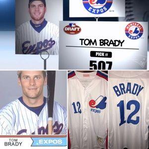 NWOT Tom Brady Vintage M&N Expos Jersey, RARE AF⚡️